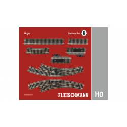 Track pack. Station Set B. FLEISCHMANN 6190
