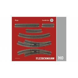Track pack. Station Set D. FLEISCHMANN 6192