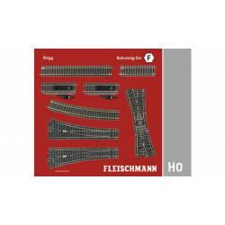 Track pack. Station Set F. FLEISCHMANN 6194