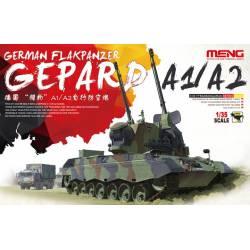 German Flakpanzer Gepard A1/A2. MENG TS-030