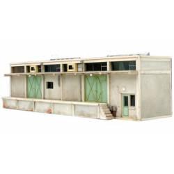 Cold store (Half model).