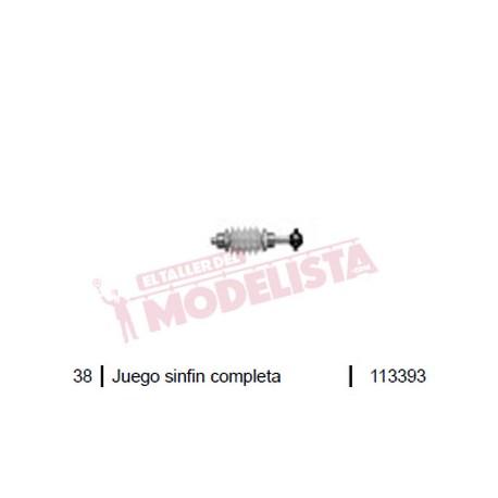Gear worm. Locomotive series RENFE 319. ROCO 113393