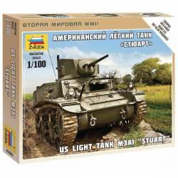 """Light tank M3A1 """"Stuart""""."""