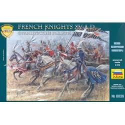 French Knights. ZVEZDA 8036
