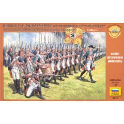 Prussian grenadiers. ZVEZDA 8071