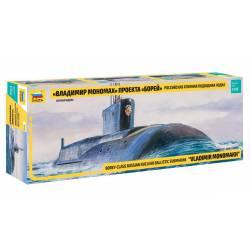Borey-Class nuclear submarine. ZVEZDA 9058