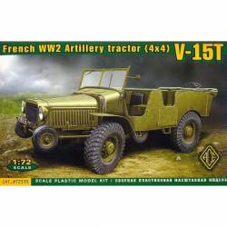 French artillery tractor V-15T. ACE 72535