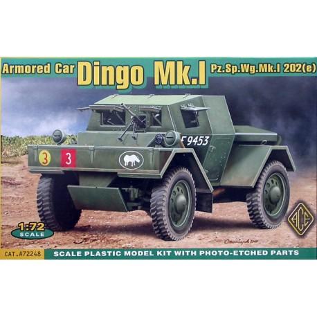 Armored car Dingo Mk.I. ACE 72248
