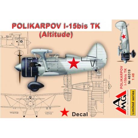 Polikarpov I-15 bis TK. AMG 48319