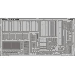 Photo-etched: US Cargo truck (for Italeri). EDUARD 36190