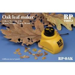 Troqueladora de hojas, roble. RP TOOLZ RP-OAK