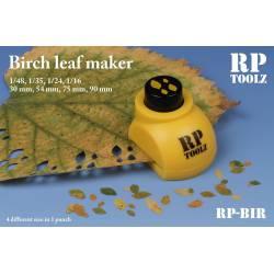 Troqueladora de hojas, abedul. RP TOOLZ RP-BIR