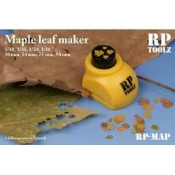 Troqueladora de hojas, arce. RP TOOLZ RP-MAP