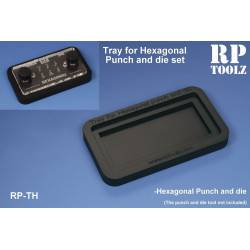 Tray for Hexagonal Punch and die sets. RP TH