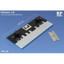 PIRANHA: 135 mm long Photo Etch Tool. RP-PIR135