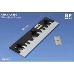 PIRANHA: Plegadora de fotograbado. 195 mm. RP-PIR195