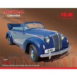 """Car """"Admiral Cabriolet"""". ICM 24021"""