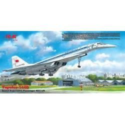 Tupolev-144D. ICM 14402