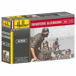 WWII German Infantry. HELLER 49605