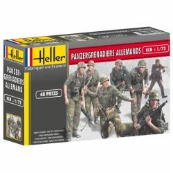 German Panzengrenadiers infrantry. HELLER 49606