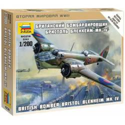 British Bomber Bristol Blenheim IV. ZVEZDA 6230