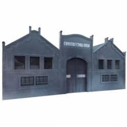 "Industrial building ""Constructora Field"". PARVUS H1002"
