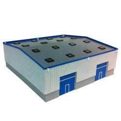 Industrial shed. PARVUS N1003