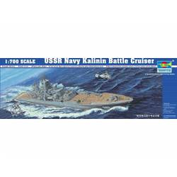 USSR Navy Kalinin battle cruiser. TRUMPETER 05709