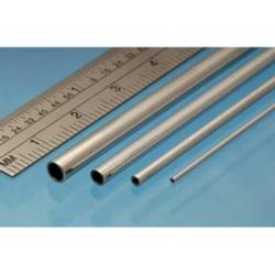 Tubo de níquel plata de 0,7 x 0,5 mm. ALBION NST07