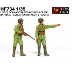 German trained divisions. HOBBY FAN 734