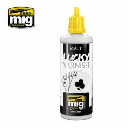 Matt lucky varnish, 60 ml.