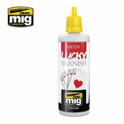 Satin lucky varnish, 60 ml. AMIG 2052