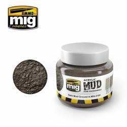 Dark mud ground. AMIG 2104