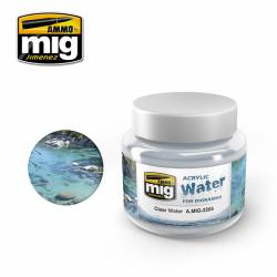 Clear water. AMIG 2205