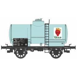 "Cisterna OCEM 19, SNCF. ""Le Roi Grap"". REE MODELES WB-467"
