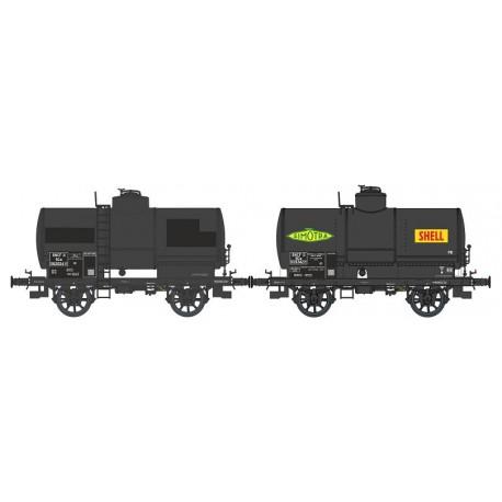 Set de cisternas OCEM 19, SNCF. REE MODELES WB-468