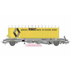 "Plataforma Kanguro con trailer ""Renault"". REE WB-339."