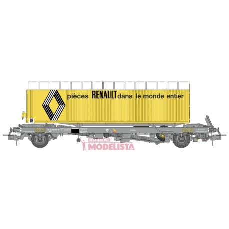 "Plataforma Kanguro con trailer ""Renault"". REE WB-339.1"