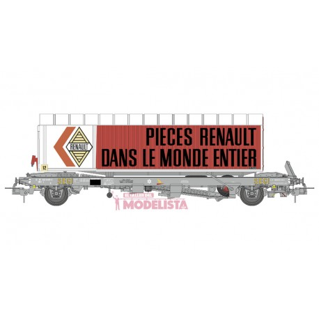 "Plataforma Kanguro con trailer ""Renault"". REE WB-348.1"