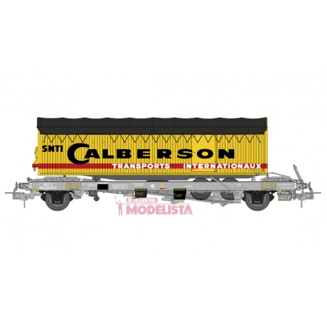 "Plataforma Kanguro con trailer ""Calberson"". REE WB-225"