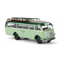 Autobus Steyr 480 A, verde. BREKINA 58050