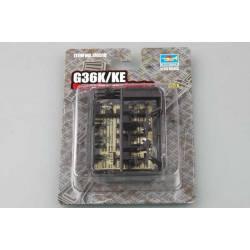 G36K/KE German Firearms selections. TRUMPETER 00518