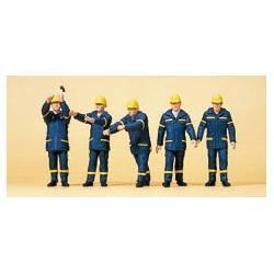 Emergency workers.