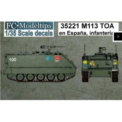 Decal set: M113. FCMODELTIPS 35221