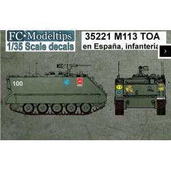 Decal set: M113.