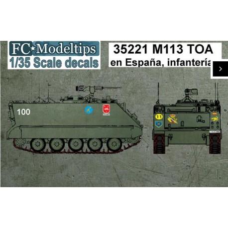 Decal set: M113. FCMODELTIPS 35221