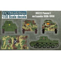 Decal set: Panzer I. FCMODELTIPS 35222