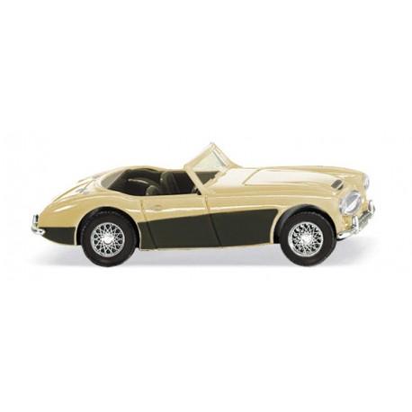 Austin Healey 3000, marfil. WIKING 081609
