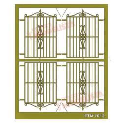 Rejas de forja para ventanas. ETM 1012