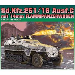 Sd.Kfz.251/16 Ausf.C. con lanzallamas. DRAGON 6864